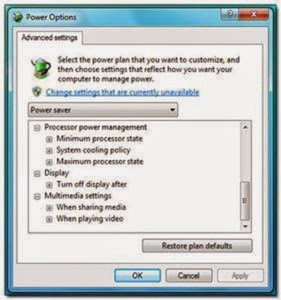 windows power manager