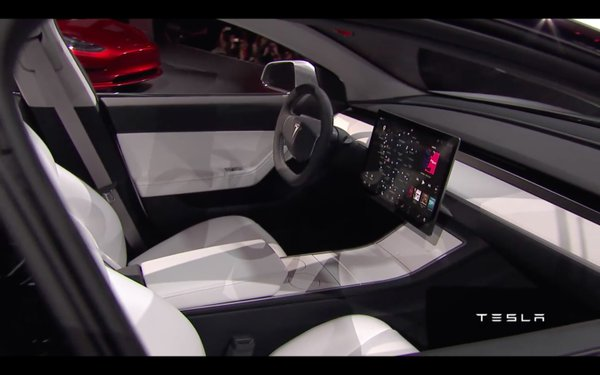 Tesla Unveiled The Long Awaited Electric Car Model 3